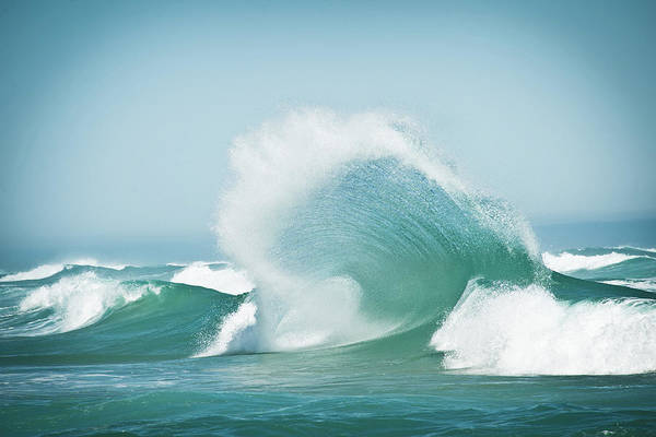 Waves Photograph - Effervescent by Robert Steinkopff