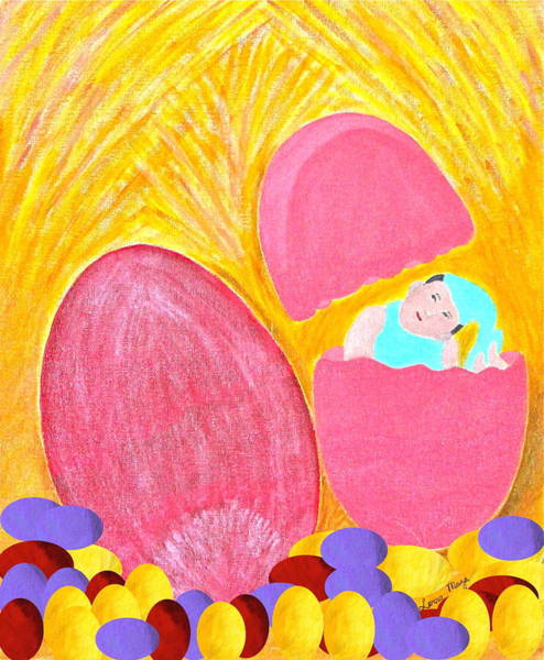Painting - Eggs by Lorna Maza