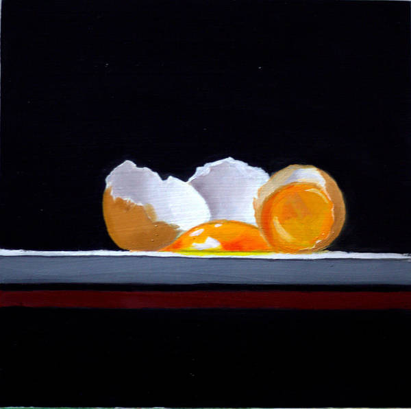 Broken Egg Painting - Eggs by Roja Mahathi Kosuru