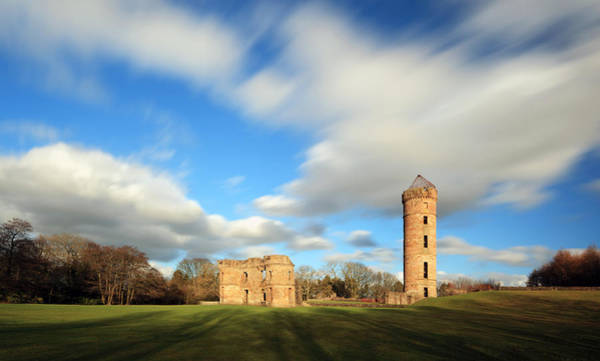 Photograph - Eglinton Castle by Grant Glendinning