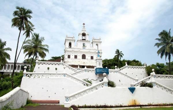 Goa Photograph - Eglise A Panaji Goa Church by Lissillour