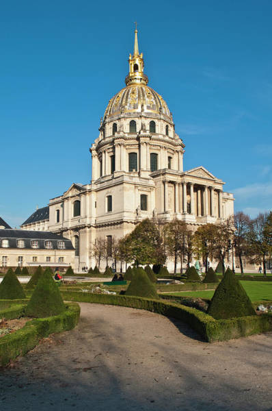 French Quarter Photograph - Eglise Du Dome, Hotel Des Invalides by Geoff Stringer