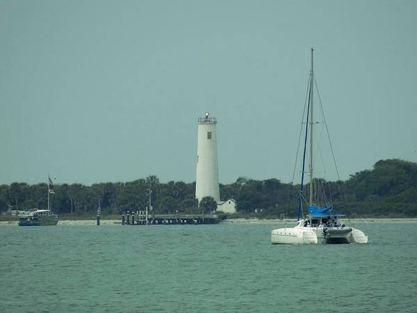Photograph - Egmont Key Light by Keith Stokes