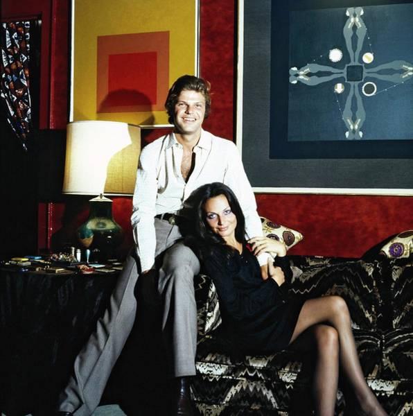 Wall Art - Photograph - Egon And Diane Von Furstenberg by Horst P. Horst