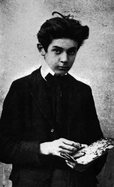 Painting - Egon Schiele Photograph by Celestial Images
