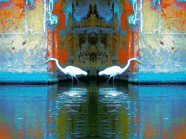 Wall Art - Photograph - Egrets Nest In A Palace by Sue Jacobi
