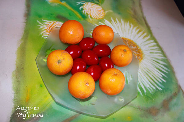 Photograph - Egss Fruits And Flowers by Augusta Stylianou