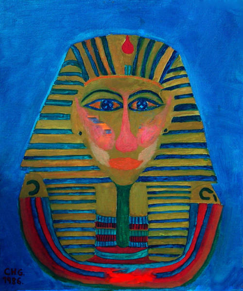 Painting - Egypt Ancient  by Colette V Hera  Guggenheim