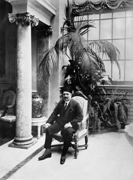 1924 Photograph - Egypt King, Sultan Ahmed Fuad by Underwood Archives