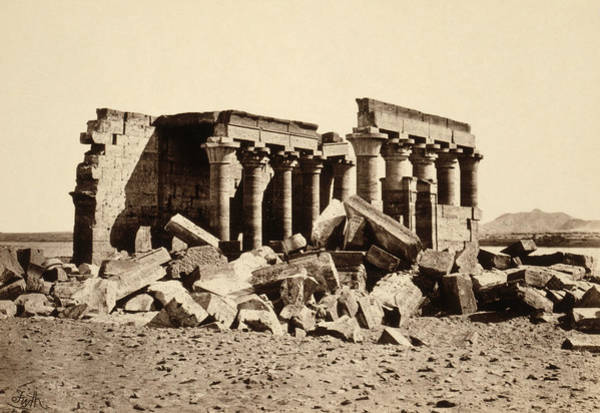 Wall Art - Photograph - Egypt Maharraqa, 1857 by Granger