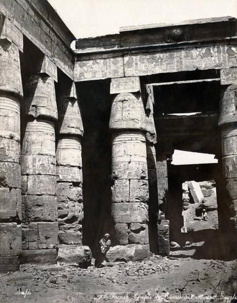 Wall Art - Photograph - Egypt Temple by Granger