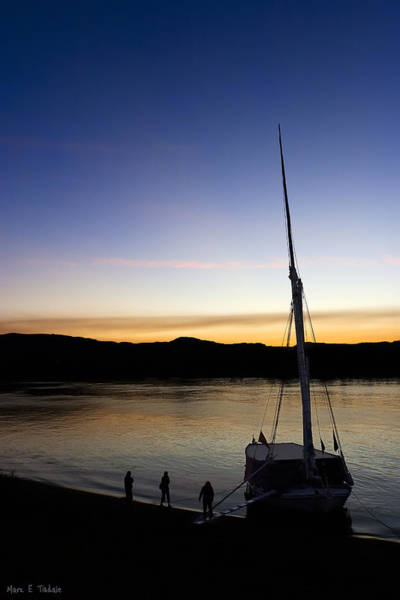 Photograph - Egyptian Dawn On The Ancient Nile by Mark Tisdale
