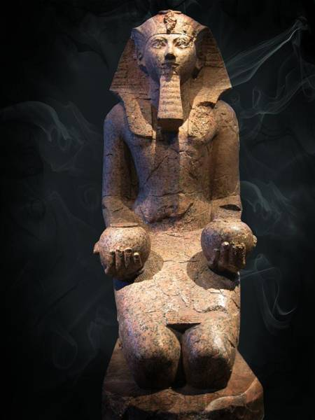 Photograph - Egyptian Sculpture 1y by Carlos Diaz