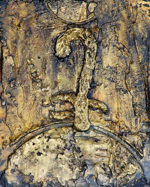 Egyptian Symbol For God Art Print by Jeffrey Oldham