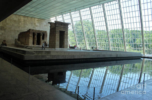 Photograph - Egyptian Temple Metropolitan Museum Of Art by Gregory Dyer