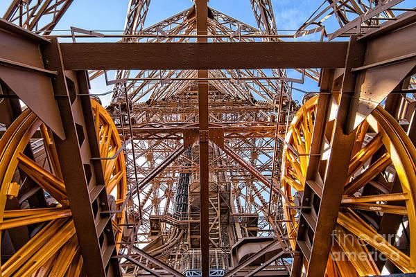 Pyrography - Eiffel Tower 05 by Mauro Celotti
