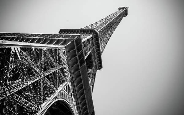 Unusual Perspective Wall Art - Photograph - Eiffel Tower by Bosca78