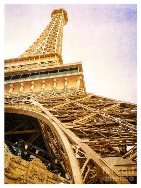 Visit Photograph - Eiffel Tower by Edward Fielding