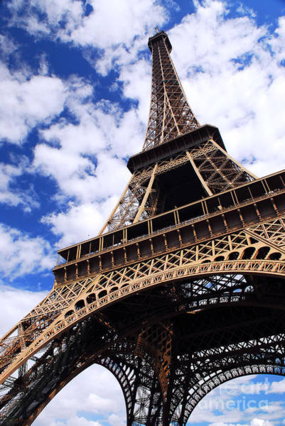 Travel Destinations Wall Art - Photograph - Eiffel Tower by Elena Elisseeva