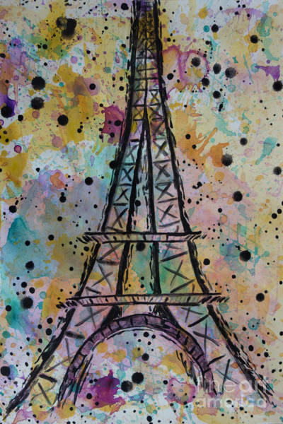 Painting - Eiffel Tower by Jacqueline Athmann
