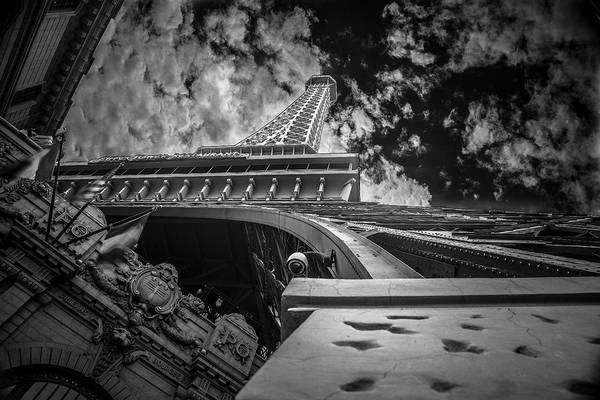 Photograph - Eiffel Tower Las Vegas by Chris Bordeleau