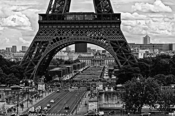 Photograph - Eiffel Tower by Louis Dallara