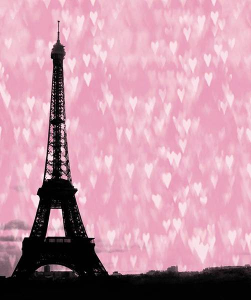 Photograph - Eiffel Tower - Love In Paris by Marianna Mills