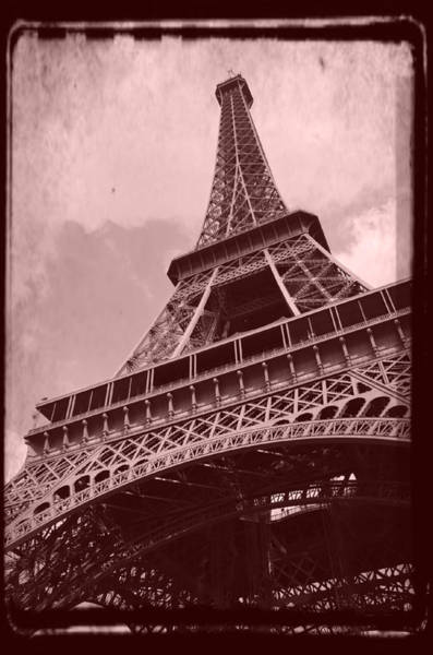 Photograph - Eiffel Tower - Old Style by Patricia Awapara