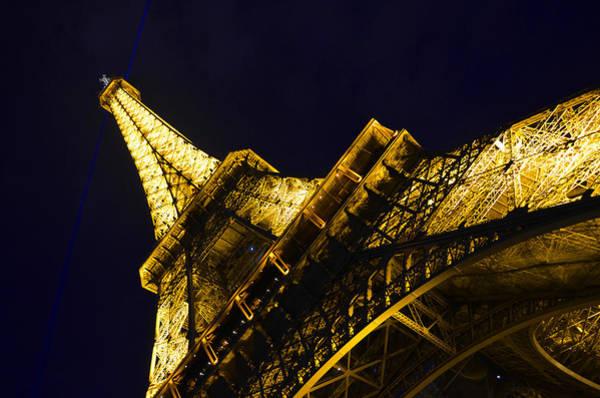 Photograph - Eiffel Tower Paris France Side by Patricia Awapara