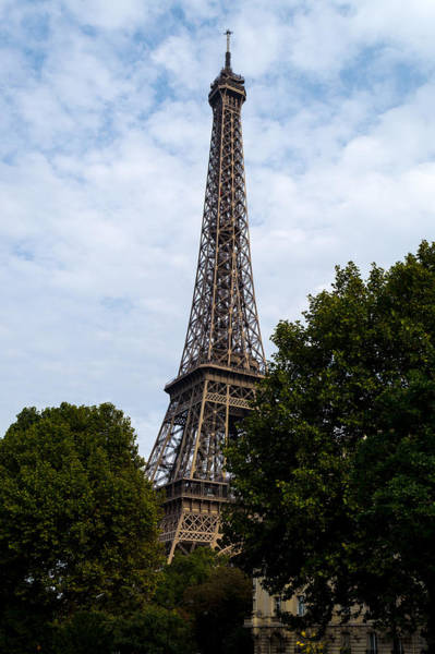 Photograph - Eiffel Tower Paris by Scott Lyons