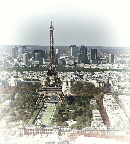 Photograph - Vintage Eiffel Tower by Ginger Wakem