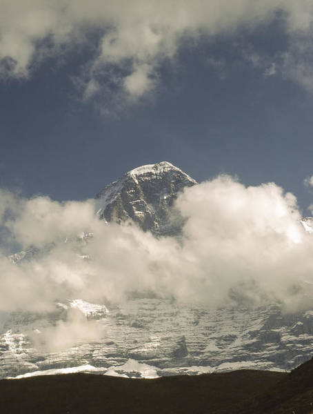Photograph - Eiger by Phil Darby