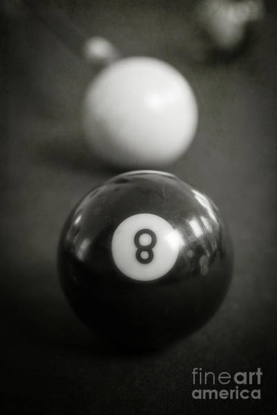 Wall Art - Photograph - Eight Ball by Edward Fielding