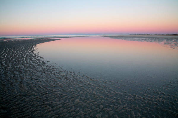 Dawn Photograph - Eighty Mile Beach At Sunrise by Feargus Cooney