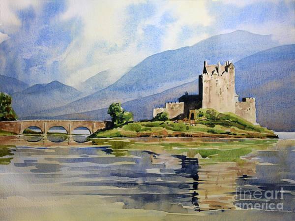 Eilean Donan Castle Painting - Eilean Donan Castle by Anthony Forster