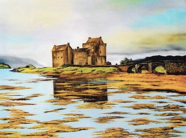 Eilean Donan Castle Painting - Eilean Donan Castle by Carol and Colin Bedson