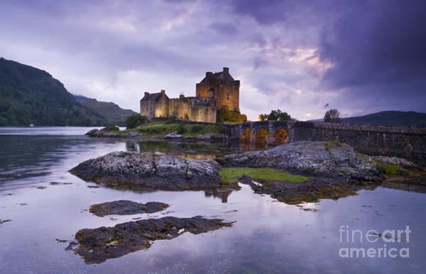 Photograph - Eilean Donan Castle by David Lichtneker