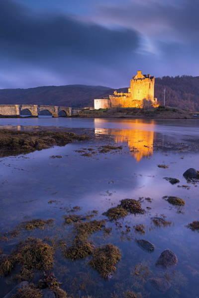 Wall Art - Photograph - Eilean Donan Castle On Loch Duich At by Adam Burton / Robertharding
