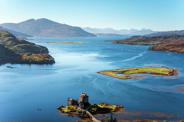Wall Art - Photograph - Eilean Donan Castle, Scotland by John Finney Photography