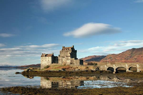 Wall Art - Photograph - Eilean Donan Castle by Sean Caffrey