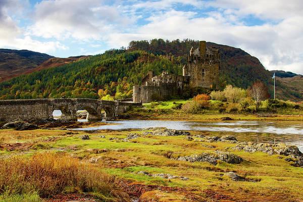 Wall Art - Photograph - Eilean Donan Castle With A View by Raffi Maghdessian