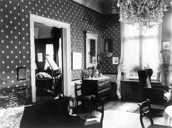 Special Effects Photograph - Einstein's Home by Emilio Segre Visual Archives/american Institute Of Physics
