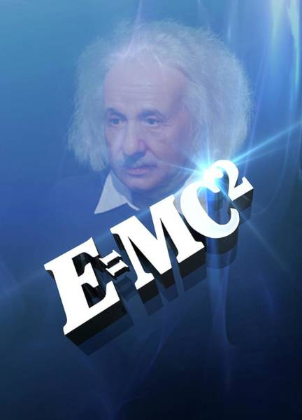 Mass-energy Equivalence Wall Art - Photograph - Einstein's Mass-energy Equation by Victor Habbick Visions/science Photo Library