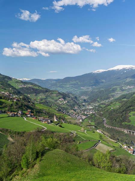 Wall Art - Photograph - Eisack Valley Near Klausen, View by Martin Zwick