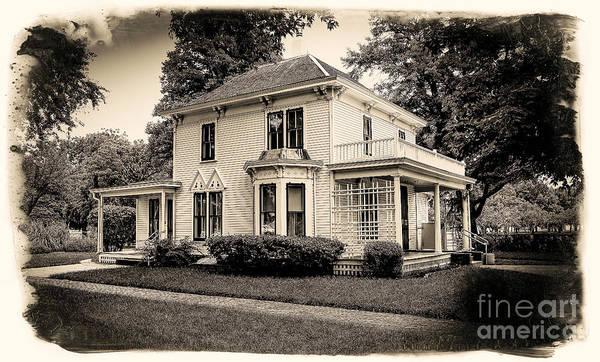 Photograph - Eisenhower Boyhood Home by Jon Burch Photography