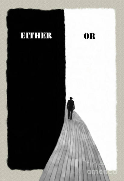 Either Or Art Print