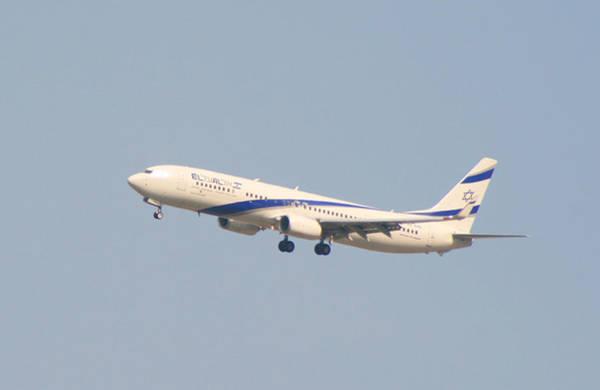 Digital Art - El Al Israeli Airlines by Doc Braham