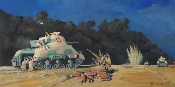 Sherman Tank Paintings | Pixels