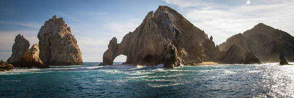 Cabo San Lucas Arch Wall Art - Photograph - El Arco At Sunset In Los Cabos Mexico by Leslie Abeyta