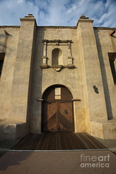 San Gabriel Mission Photograph - El Camino Real Door Entrance Way San Gabriel Mission by Jason O Watson
